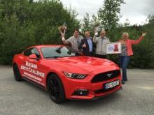 Ford Mustang ujel na jednu nádrž rekordních 1 249,3 km!