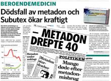 Subutex- & metadonprogrammet en katastrof