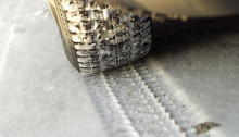 NTF vill se märkning av däck för grepp på is