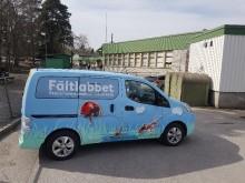 Nu är fältlabbet igång – Stockholms mobila naturskola