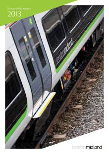 London Midland Sustainability Report 2012/13