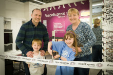 Cornsay mum tells of daughter's battle with rare eye cancer at opening of new Durham optician