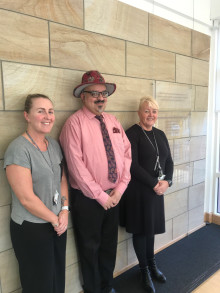 Valentine's surprise for great work of ng homes staff