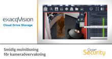 Molnlösning för kameraövervakning