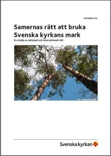 Ny rapport från Svenska kyrkan om ILO 169