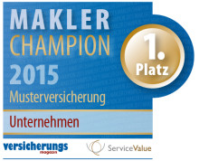 Makler-Champions 2015: Das sind die Versicherer und Pools mit dem höchsten Servicewert für den Makler