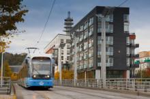 Arriva förstärker spårvagnstrafiken med buss när A35-vagnarna står stilla
