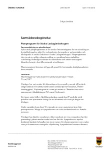 Samrådsredogörelse Södra Ladugårdsskogen