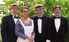 I Syrénbersån, Mälarhöjdens friluftsteater, söndagen 28/8, kl 18.00.