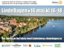 LindeDagen 16 maj: Åter dags för folkfest i Lindesberg