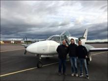 Högtflygande metod för förståelse av klimatförändringar i nordliga sjöar