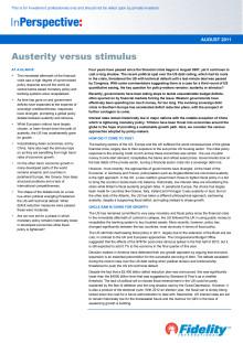 Austerity versus stimulus