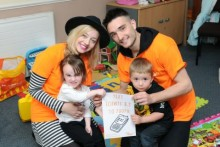 Chart-topping pop star pledges support for ellenor