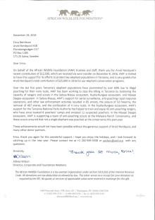 Tackbrev från AWF