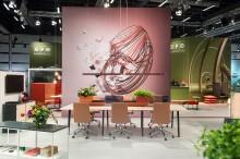 EFG:n kehitystarina vakuuttaa Tukholman huonekalumessuilla 2017