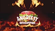 Den argaste burgaren någonsin lanseras hos BURGER KING® - The Angriest WHOPPER® med rött hett bröd