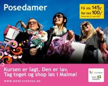 Malmö storsatsar på shoppingsugna danskar