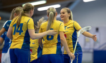 Fyra debutanter i U19-damlandslagets trupp till Euro Floorball Tour