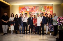 A successful Contemporary Art Salon held at Pan Pacific Tianjin