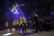 Svenska landslaget i Timbersports till SkogsElmia