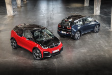 Elbilen BMW i3 i nye udgaver