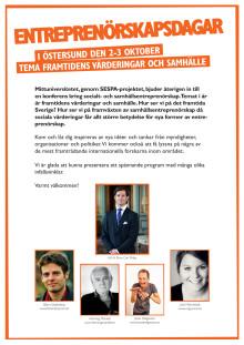 Program Entreprenörskapsdagarna 2012