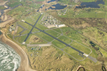 Runway restoration unveiled at RAF Valley, Anglesey