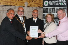 Rochdale borough remembers Srebrenica