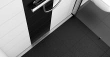 Weber lanserar marknadens första väggnära golvbrunn med färdigmonterad brunnsmanschett