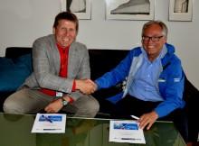Bergen 2017 og Avinor har signert samarbeidsavtale