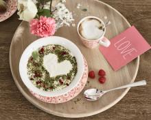 Valentinsüberraschungen von Villeroy & Boch: Liebe auf den ersten Blick oder Schmetterlinge im Bauch