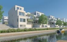 Stort intresse att bo i HSBs lägenheter på Kattvikskajen i Hudiksvall