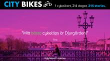 Berghs studenters kampanj för City Bikes / Clear Channel live!