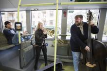Klassiska konserter på elbusslinje 55