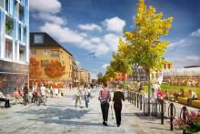 Stora planer för Lidingös centrala delar