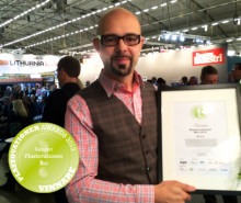 Innventias pappersförpackning vinner Plastovationer Award