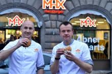 Premiär för Max i Köpenhamn