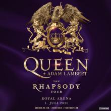 "Queen + Adam Lambert kommer til Danmark på ""The Rhapsody Tour"""