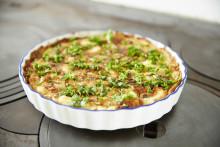 Månadens recept september - Örtfylld potatispaj