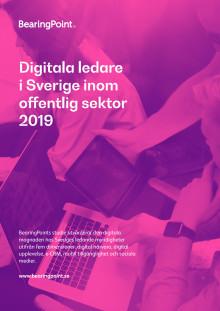 Digitala ledare inom offentlig sektor i Sverige 2019