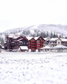 Nu falder sneen i Sverige