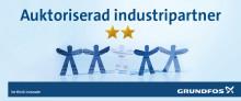 Auktoriserad industripartner till Grundfos
