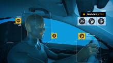Interagera med din bil genom gester, tal och blickkontroll