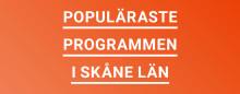 Populäraste gymnasieutbildningarna i Skåne