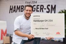 Vinnaren korad i årets Hamburger-SM