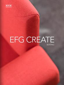 EFG Create -istuinkalusteet, design Jonas Forsman