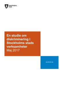 En studie om diskriminering i Stockholms stads verksamheter