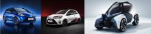 Toyota på bilmässan i Genève: Visar Yaris i både ny kostym och prestandautförande samt nytt konceptfordon för urbana transporter
