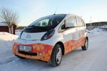 Första elbilen kommer till Dalarna