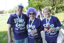 ​Step Out in Staffordshire to support stroke survivors